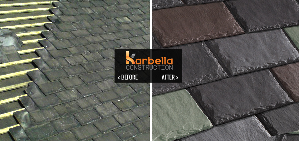 Slate Roofing Karbella Construction